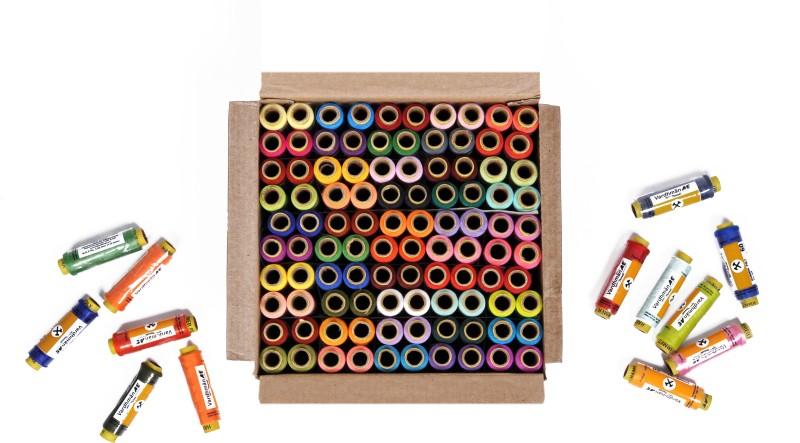 Vardhman multcolor Thread(180 m Pack of100)