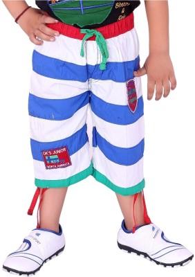 OKS Junior Striped Boy's Three Fourths