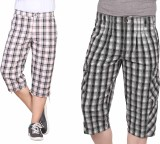 Hi-Sport Checkered Men's Three Fourths