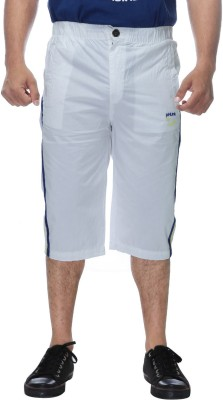 Clickroo Solid Men's Three Fourths