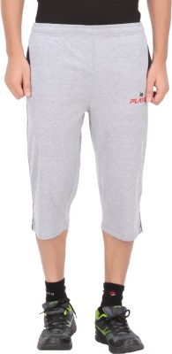 Indian Engineer Solid Men's Three Fourths