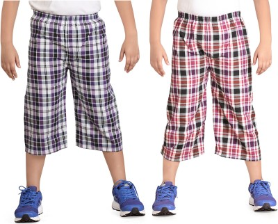 Dongli Checkered Boys Three Fourths
