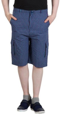 Hypernation Checkered Men's Three Fourths