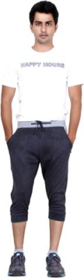 Happy Hours Solid Men's Three Fourths