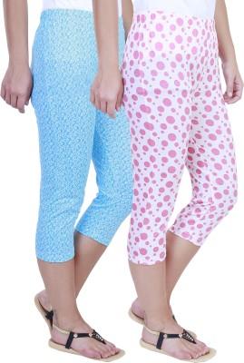Eshelle Fashion Women,s Blue, White, Pink Capri