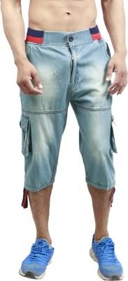 Leg-In Solid Men's Three Fourths