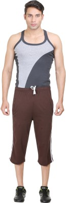 John Caballo Solid Men's Three Fourths
