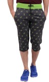Crux and Hunter Printed Men's Three Four...