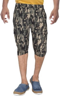 Clickroo Printed Men's Three Fourths
