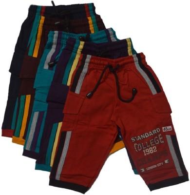 CRT Silks Three Fourth For Baby Boys(Multicolor)