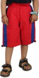 Dazzgear Three Fourth For Boys (Red)
