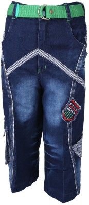 Weecare Embroidered Boy's Three Fourths