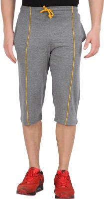 Checkers Bay Solid Men's Three Fourths