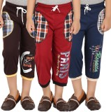 Meril Three Fourth For Boys (Multicolor)