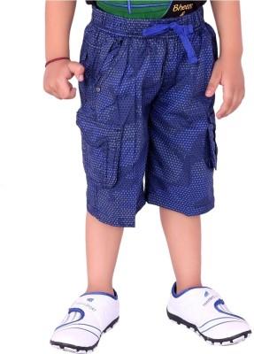 OKS Junior Printed Boy's Denim Three Fourths