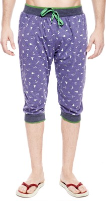 Trends Printed Men's Three Fourths