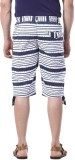 BornFree Striped Men's Three Fourths