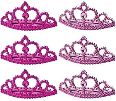 Amscan Crown(Pink, Pack of 6)