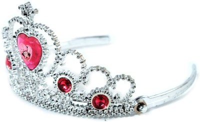Disney Tiara(Silver, Red, Pack of 1)
