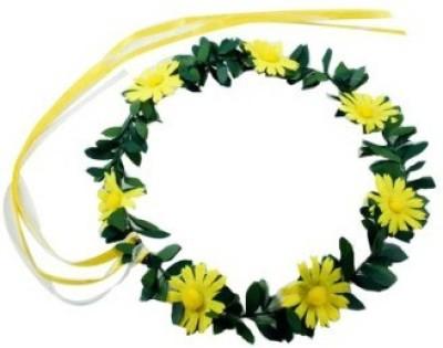 Smartcraft Floral Sunflower-Yellow Tiara