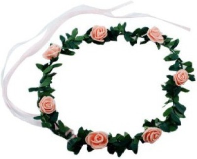 Smartcraft Floral Rose-Peach Tiara