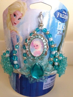 Disney Tiara(Blue, Pack of 1)