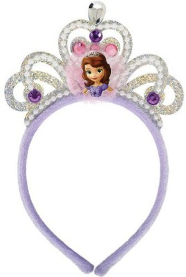 Amscan Tiara(Purple, White, Pack of 1)