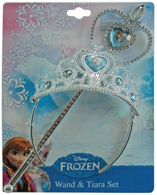 Disney Crown & Tiara(Silver, Pack of 2)
