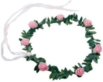 Smartcraft Floral Rose-Pink Tiara