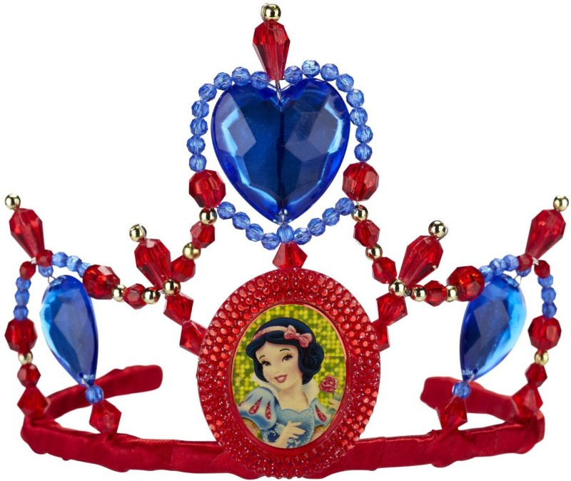 Disney Tiara(Red, Blue, Pack of 1)