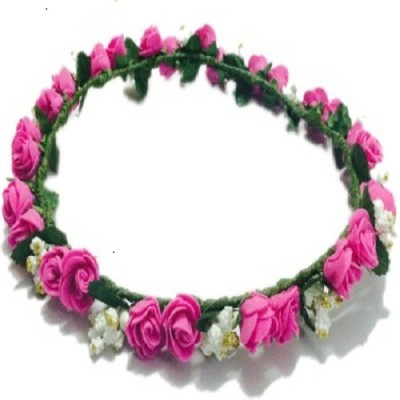 M V Traders Crown(Pink, Pack of 1)