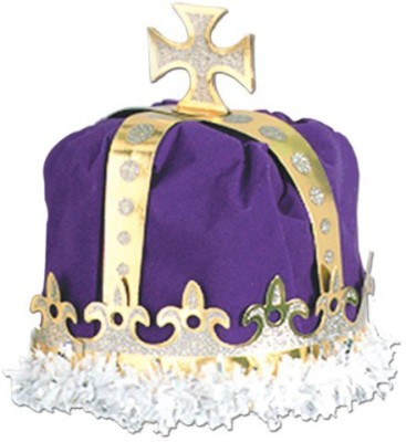 Beistle Crown(Purple, Pack of 1)