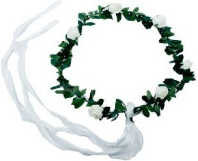 Smartcraft Floral Rose-White Tiara