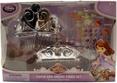 Disney Interactive Studios Tiara(Silver, Pack of 6)
