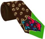 meSleep Printed Men's Tie