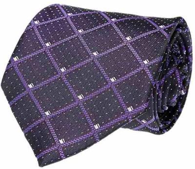 Pacific Gold Month Geometric Print Men's Tie