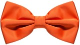 Civil Outfitters Orange Bow Solid Men's ...