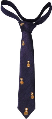 EthnicShack All Over Matka Pattern Hand Painted Neck Printed Men's Tie