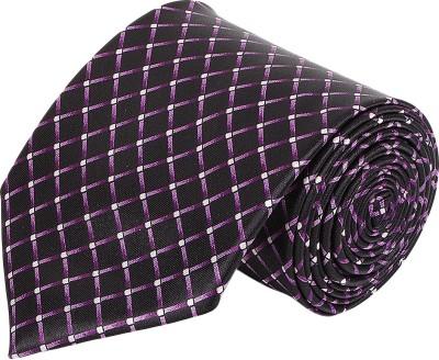 AttireArtist Subtle Charm Self Design Men's Tie