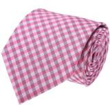 Vermello Checkered Tie