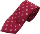 Blacksmithh Premium Jacquard Red Formal ...
