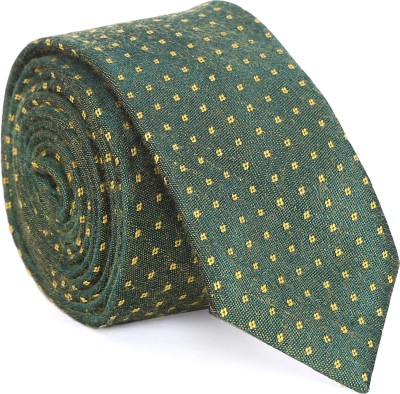 Indian Artizans Polka Print Tie