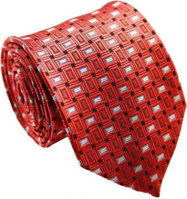 SilkandSatin Geometric Print Tie