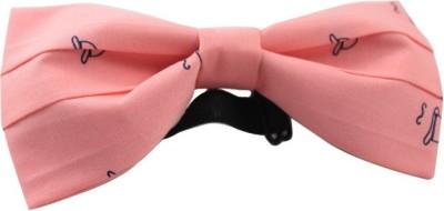Moods And Hues Pinkhat Printed Men's Tie