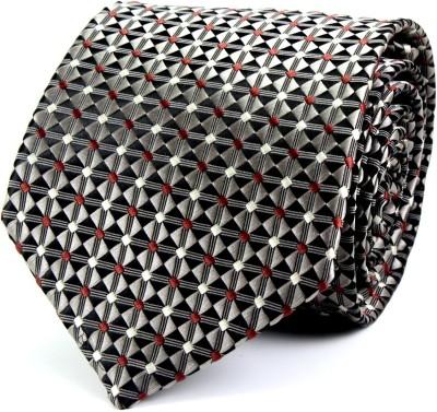 Dynamo Self Design Men's Tie