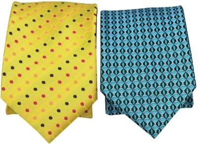 Meditech Polka Print Tie(Pack of 2)
