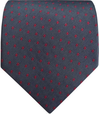 Silk and Satin Checkered Men's Tie