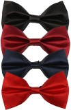 Greyon Solid Tie (Pack of 4)