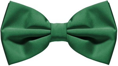 Civil Outfitters Bottle Green Bow Solid Men's Tie