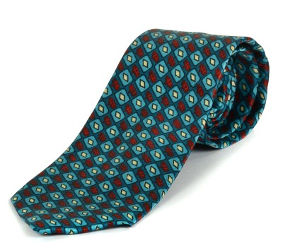 Paranoid Geometric Print Men's Tie
